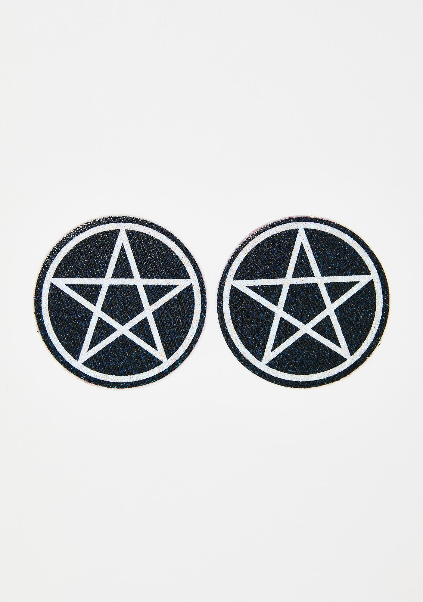 Pastease Glitter Pentagram Pasties