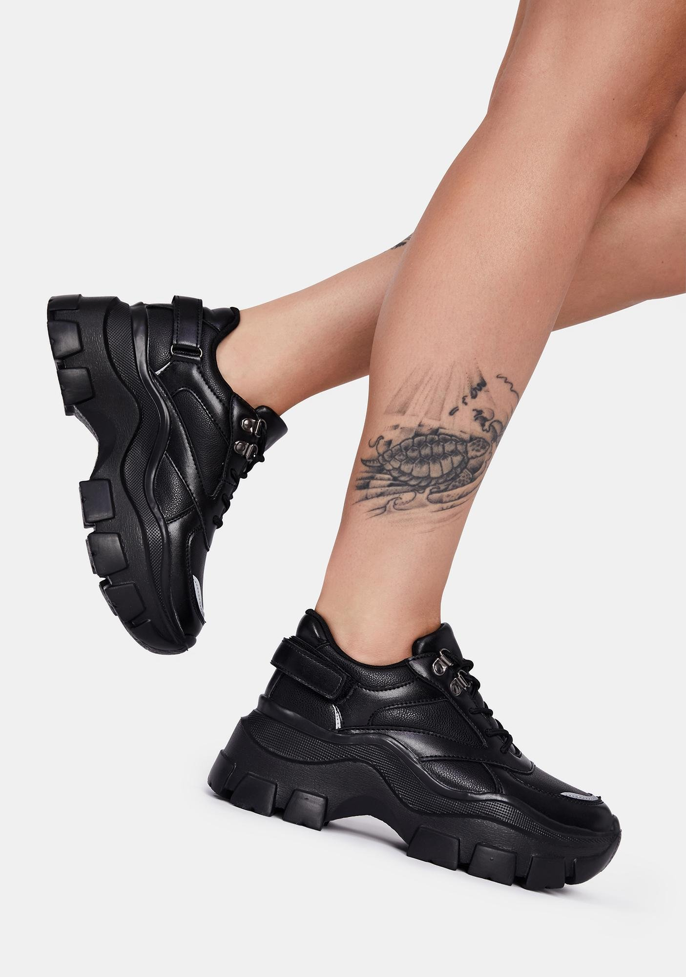 Push The Limits Lace Up Sneakers