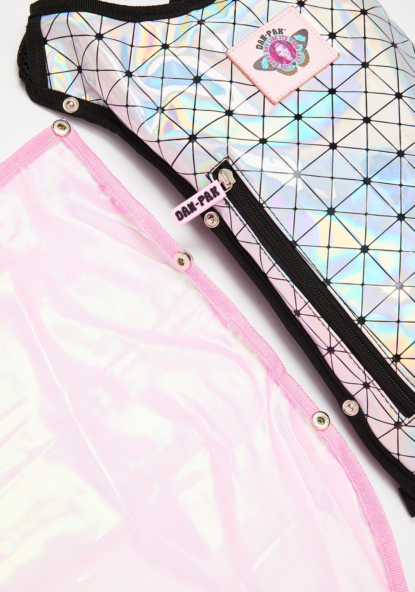 Dan-Pak Holographic Disco Fairy Hydration Pack