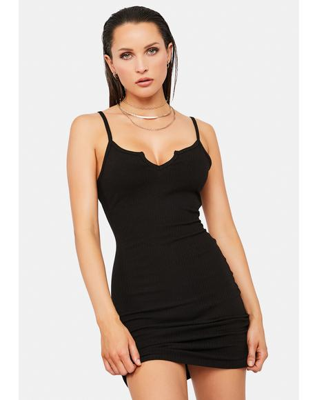 Noir Fancy You Mini Dress