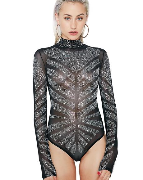Got It Made Embellished Bodysuit