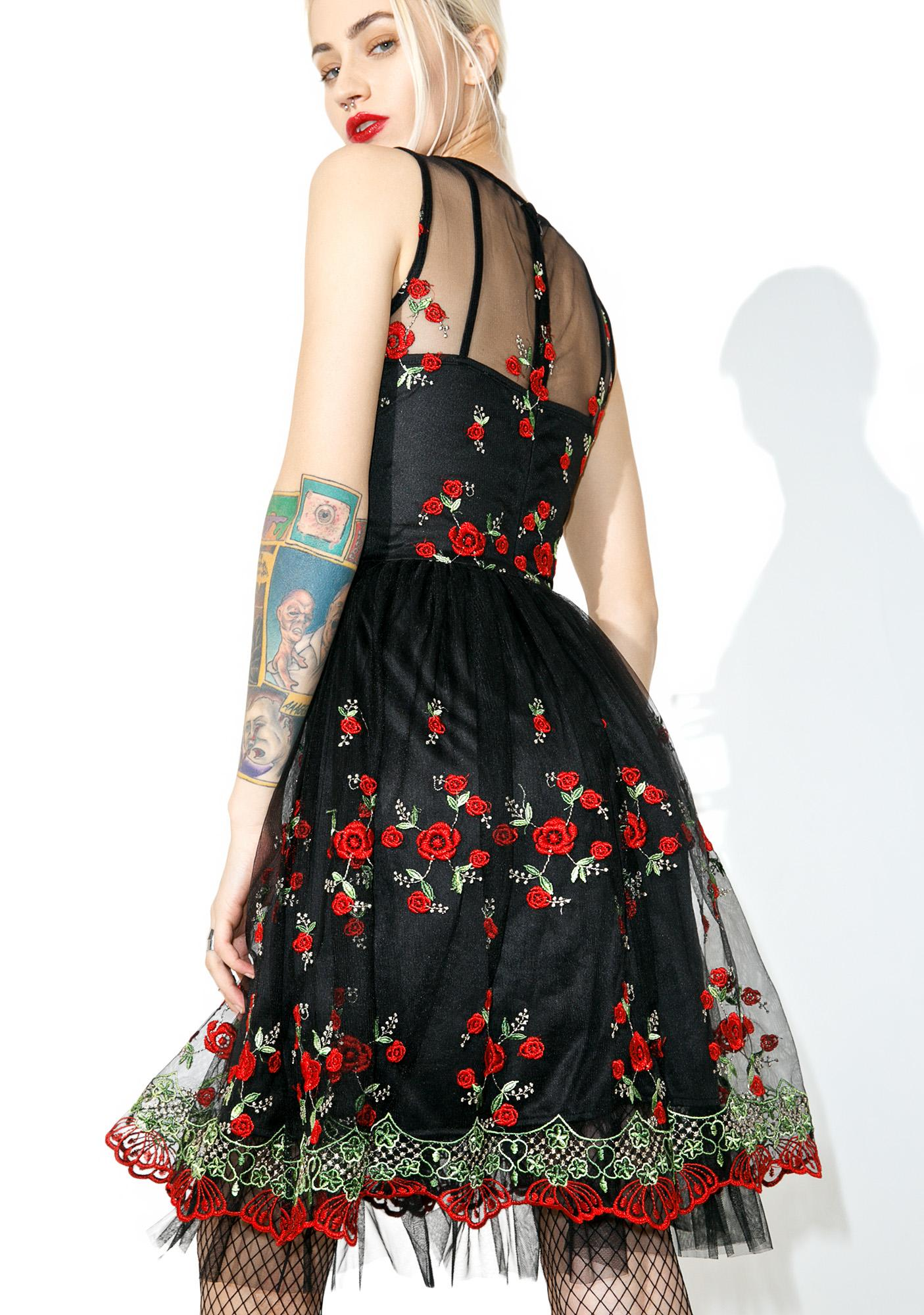 Walk In The Park Floral Dress