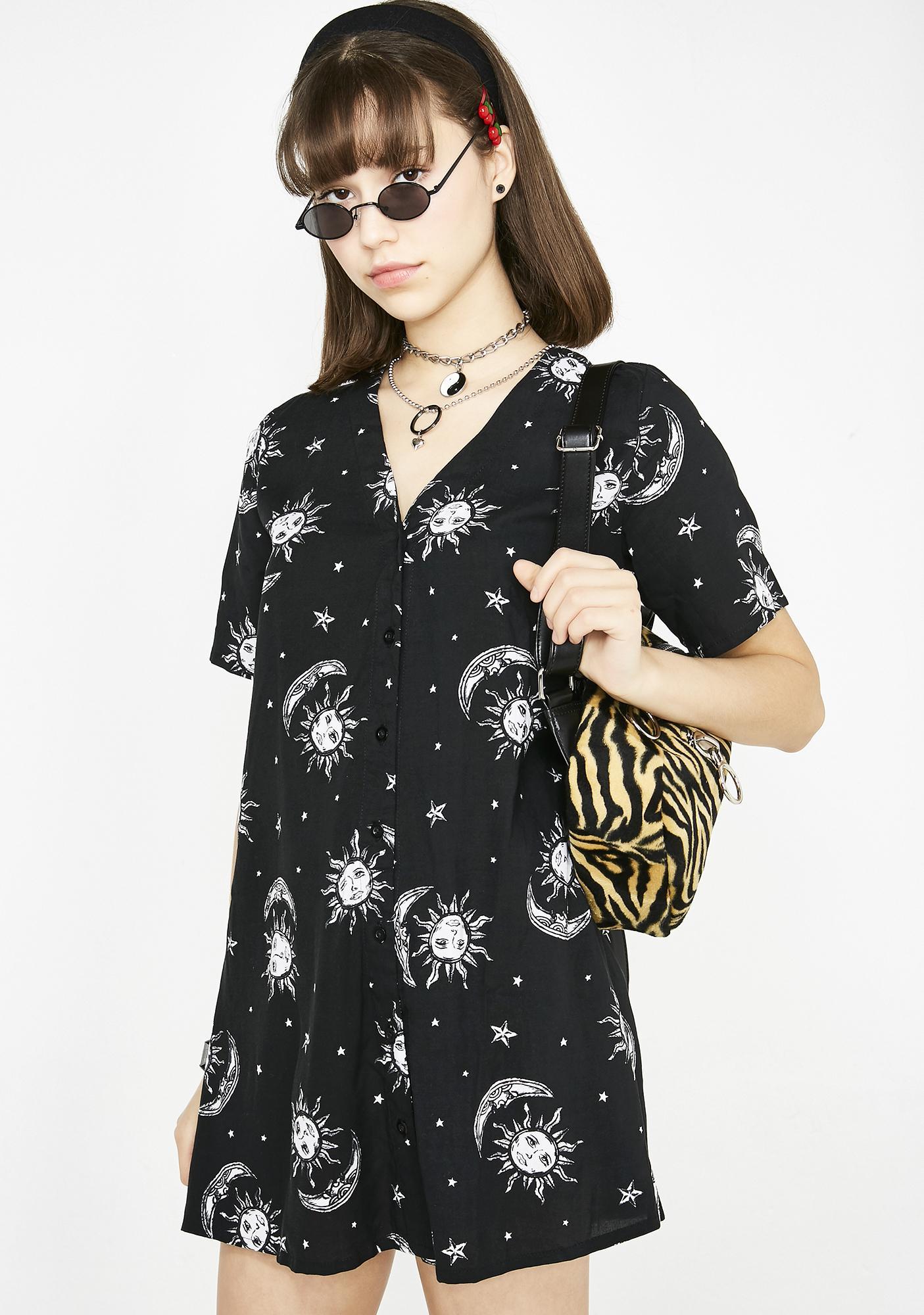 Motel Celestial Crosena Dress