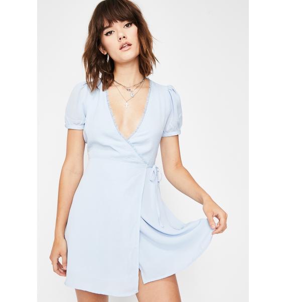 Angel Baby Wrap Dress
