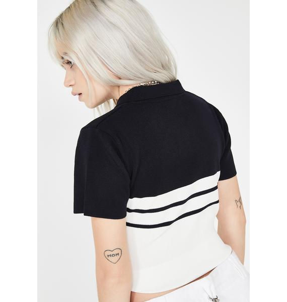 Country Club Chaos Polo Top