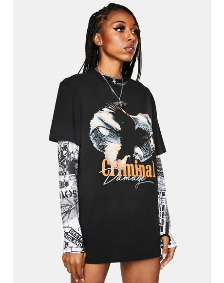 Eagle Hunter Graphic Tee