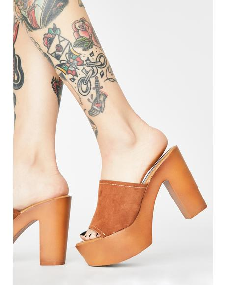Natural Hippie At Heart Mule Heels