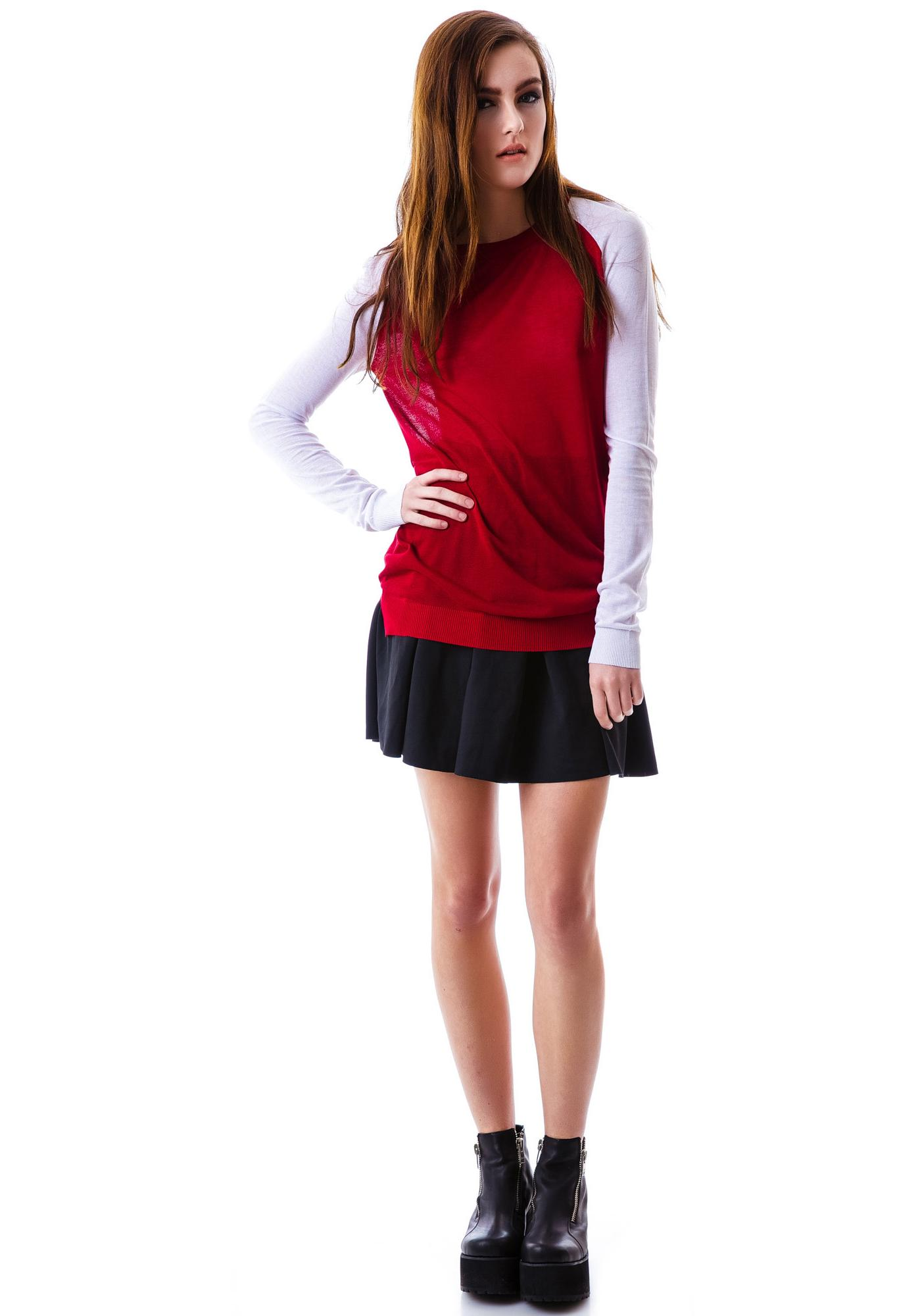 Homerun Raglan Sweater