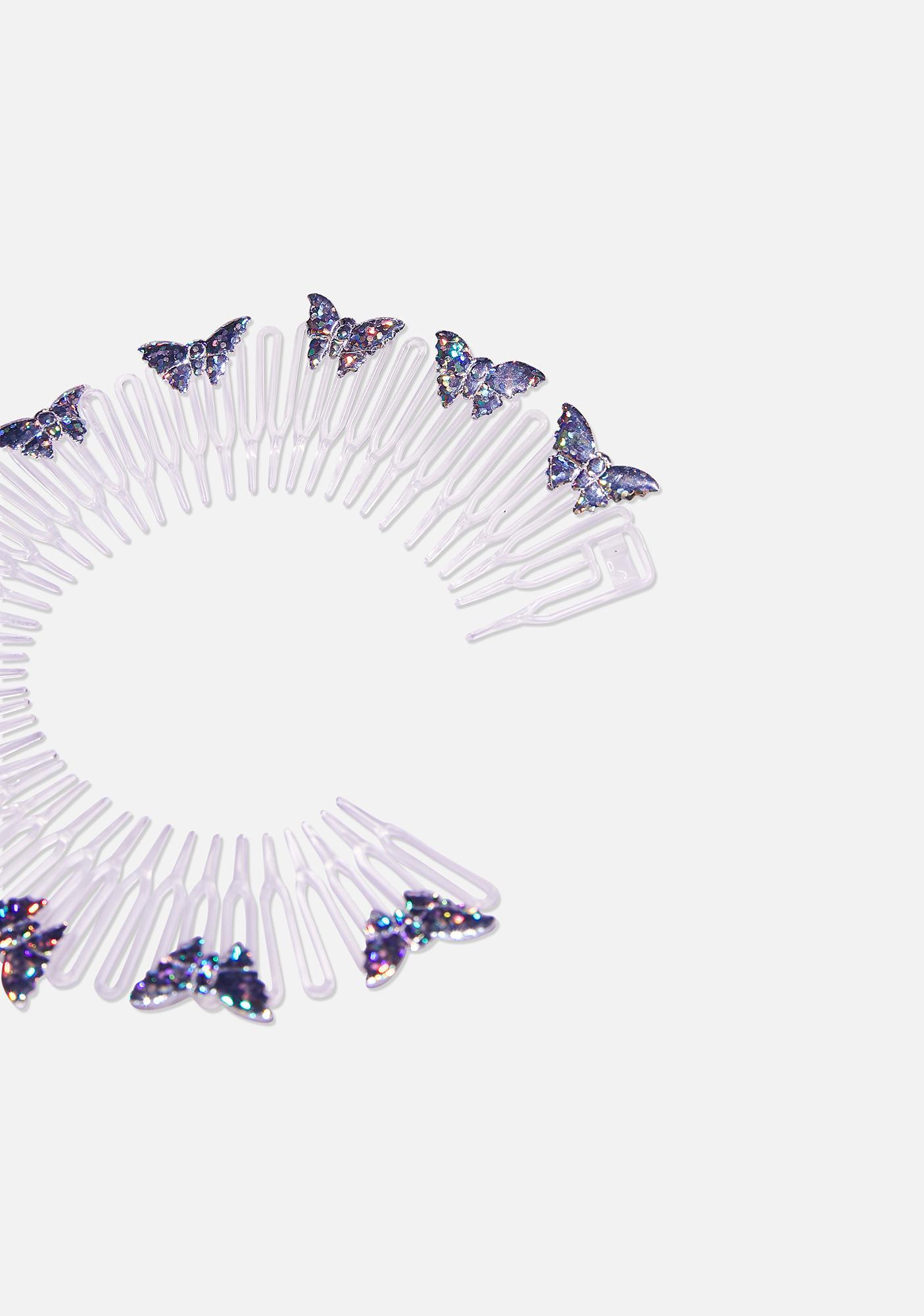 Good Times Eyewear Metallic Butterfly Headband
