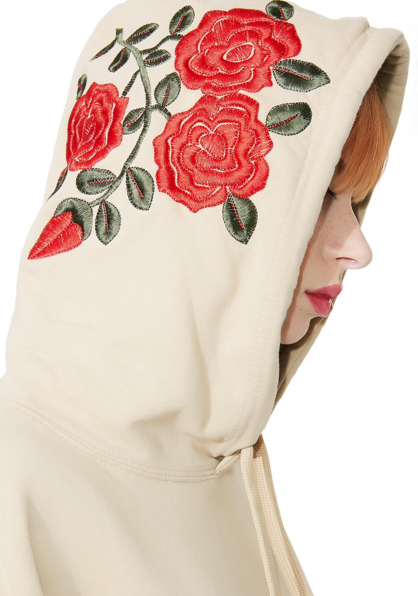 Happiness Rose Pullover Hoodie