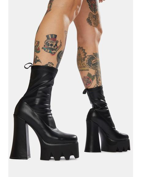 Troublemaker Chunky Platform Boots