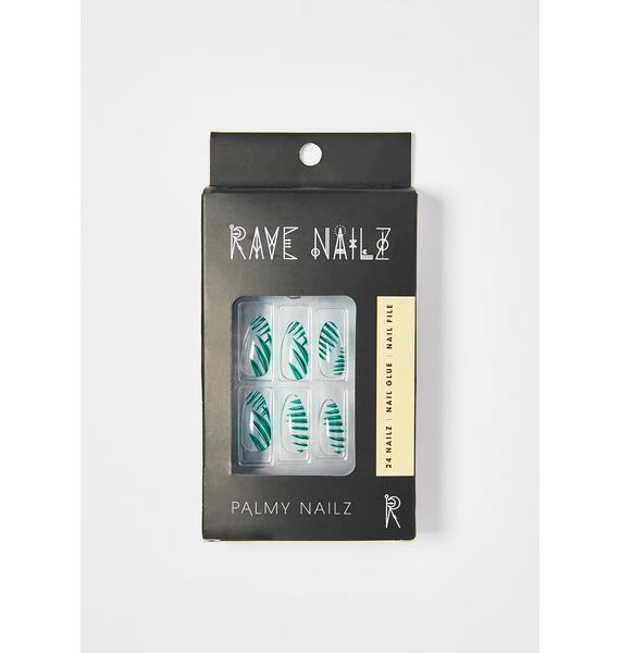 Rave Nailz Palmy Acrylic Nails