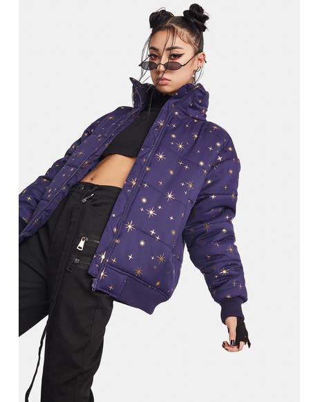 Constellations Puffer Jacket
