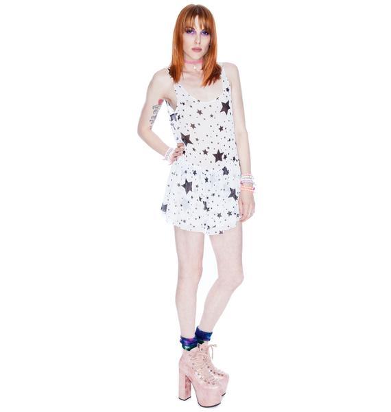 Naven Star Print Ballerina Dress