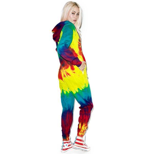 Reactive Rainbow Onesie