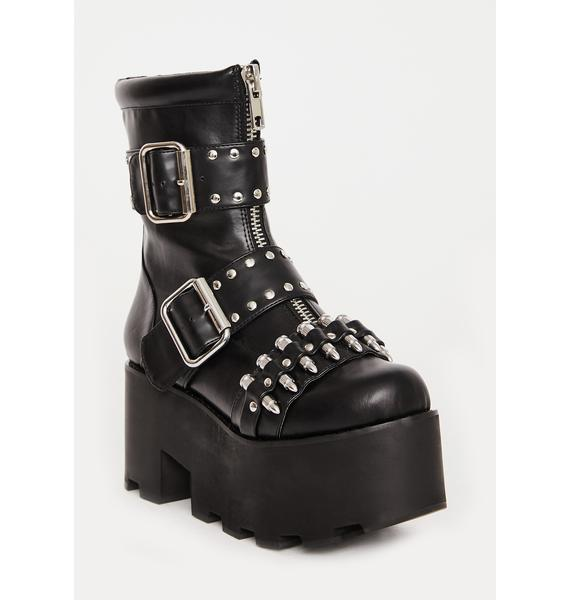 Charla Tedrick Loaded Ankle Boots