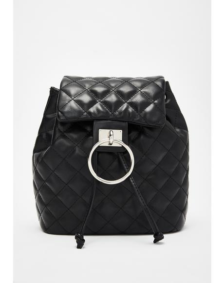 Luxe Levels Quilted Backpack
