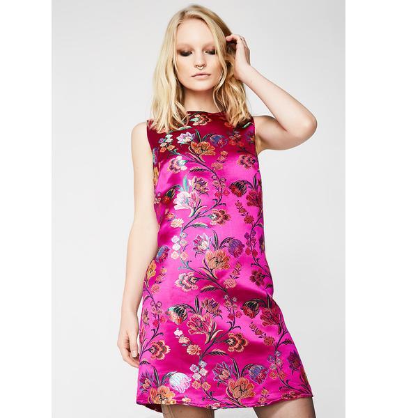 Glamorous Poised Mini Dress