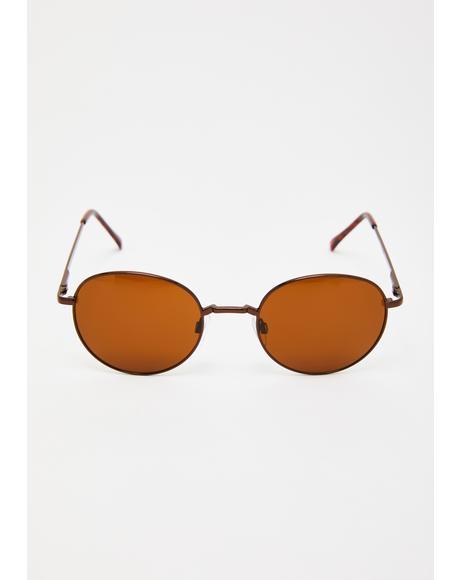 Park Daze Round Sunglasses