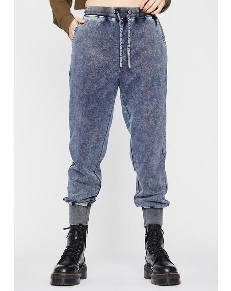 Total Buzz Kill Denim Joggers