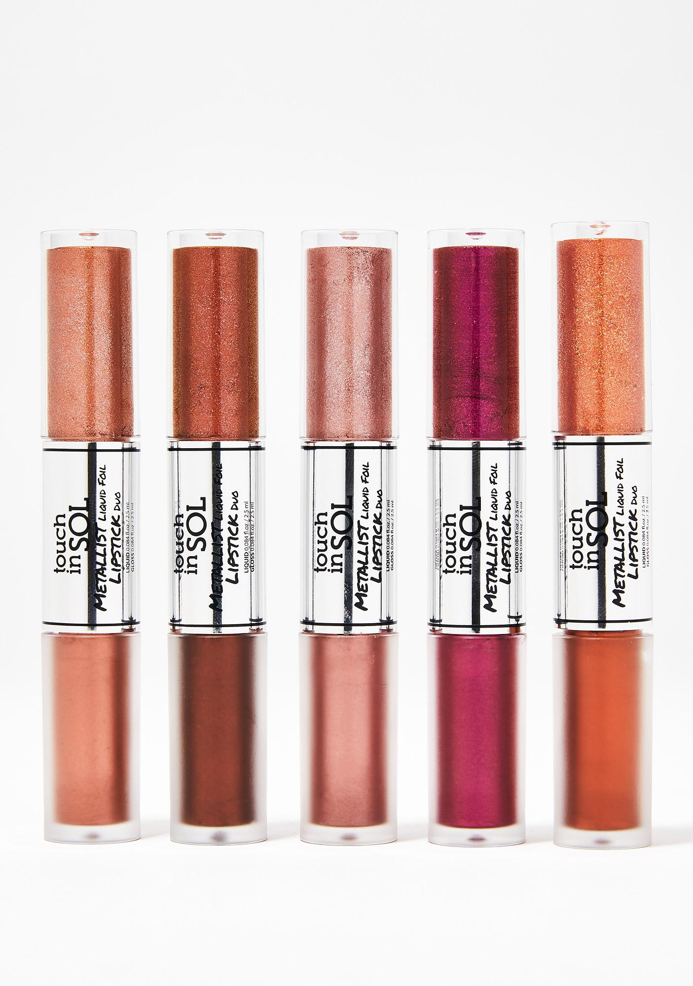 Touch In Sol Maria Metallist Liquid Lipstick Duo