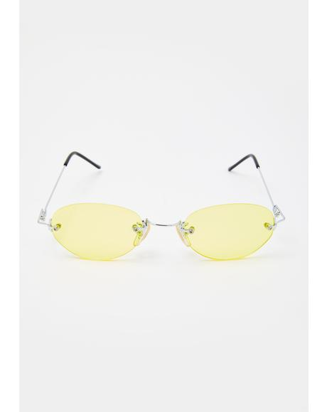 Yellow Remi Sunglasses