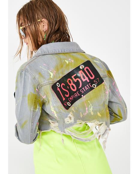 Licensed Trouble Denim Jacket
