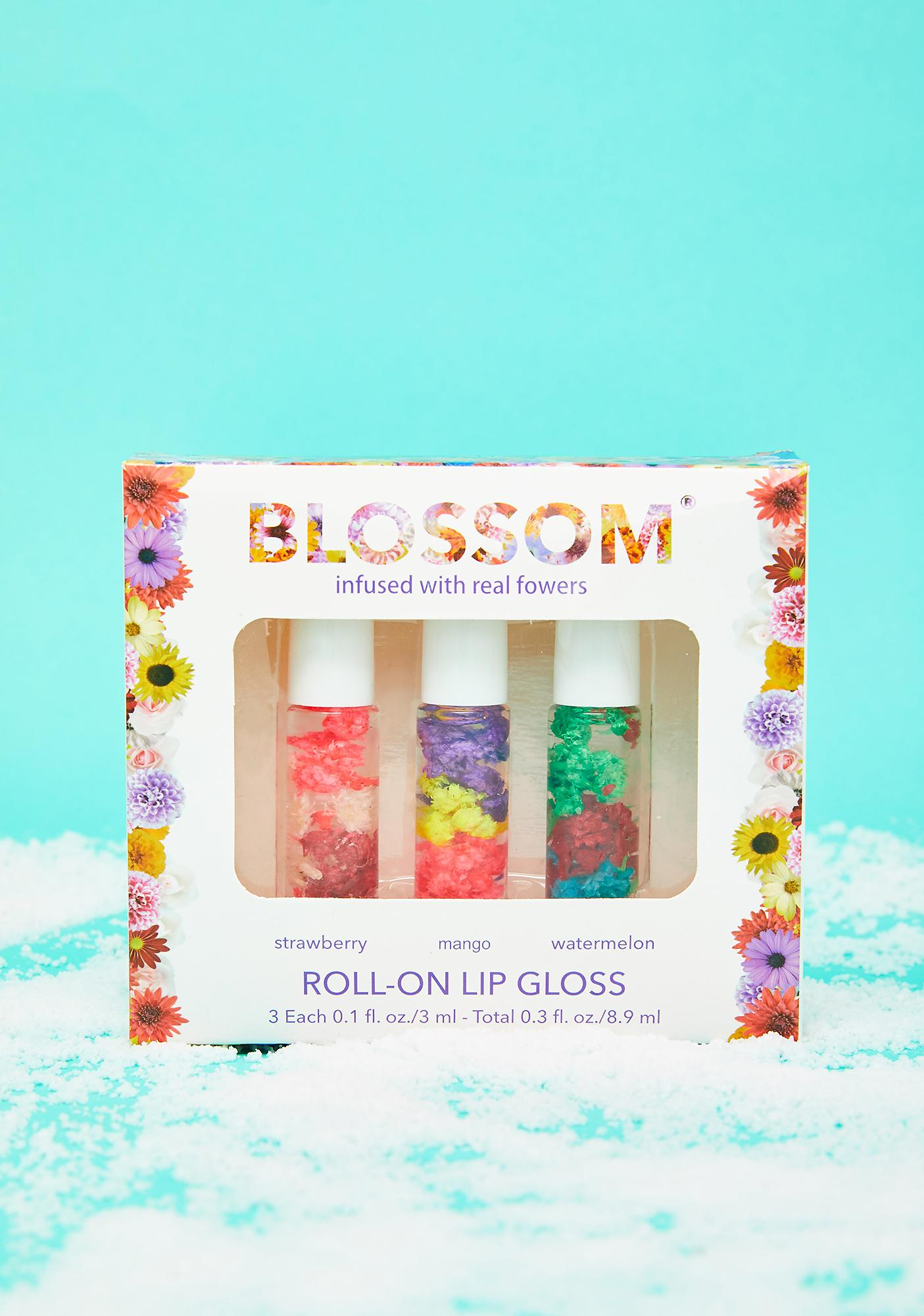 Blossom 3 Piece Lip Gloss Gift Set
