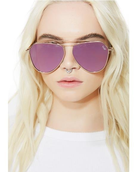 Chloe 2 Green Sunglasses