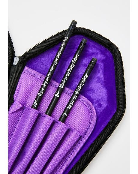 Goth 3- Pack Pencils