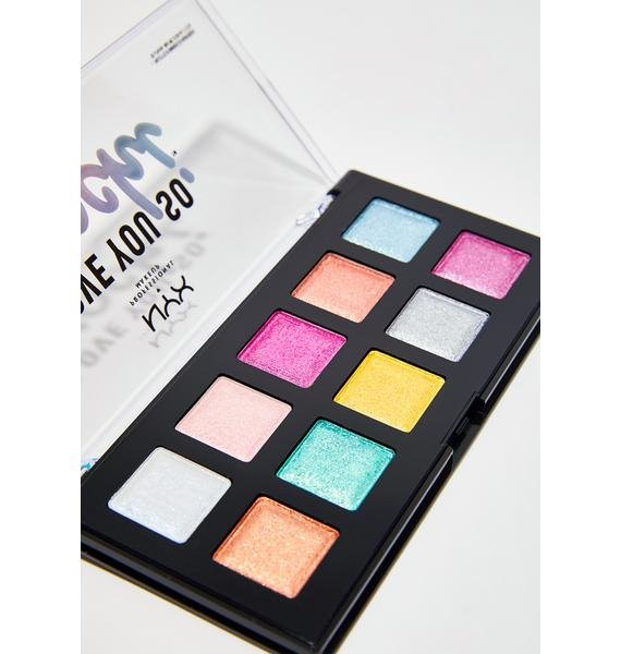 NYX Electric Pastels Love You So Mochi Eyeshadow Palette