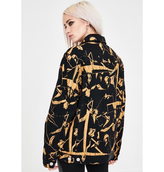 HYPLAND X Bleach Ichigo Denim Jacket