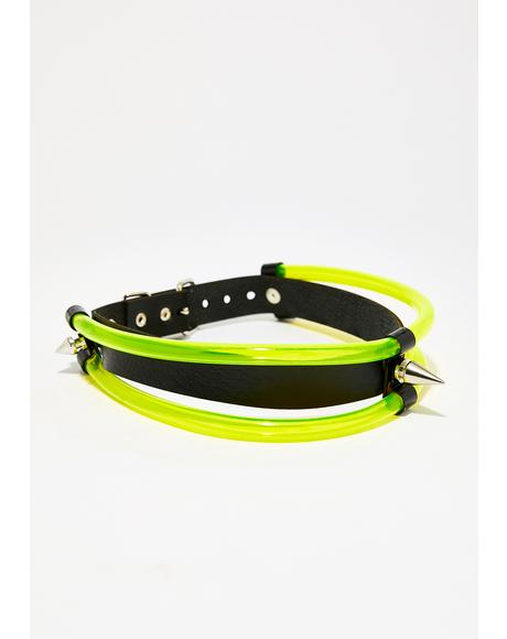 Lab Test UV Reactive Choker