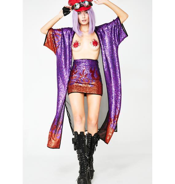 GoGuy Purple Flame Skirt