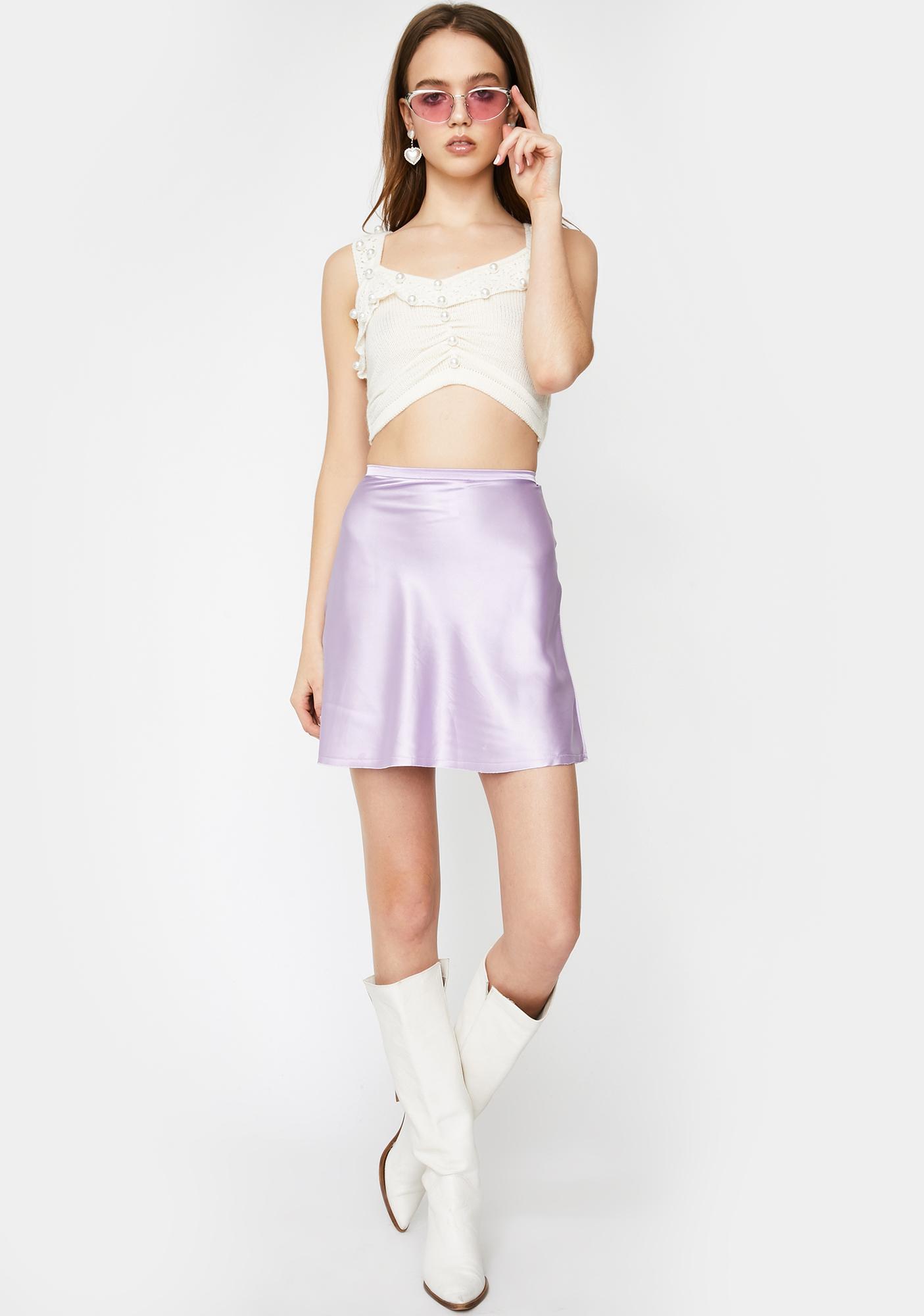 For Love & Lemons Pearl Sweater Cami