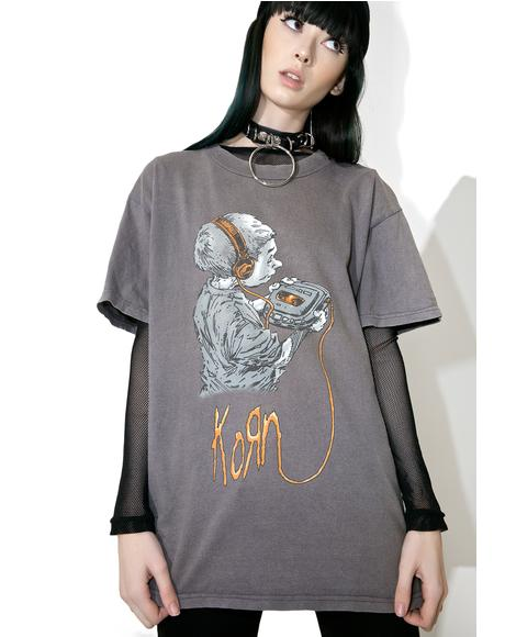 Vintage Korn Follow The Leader Tee