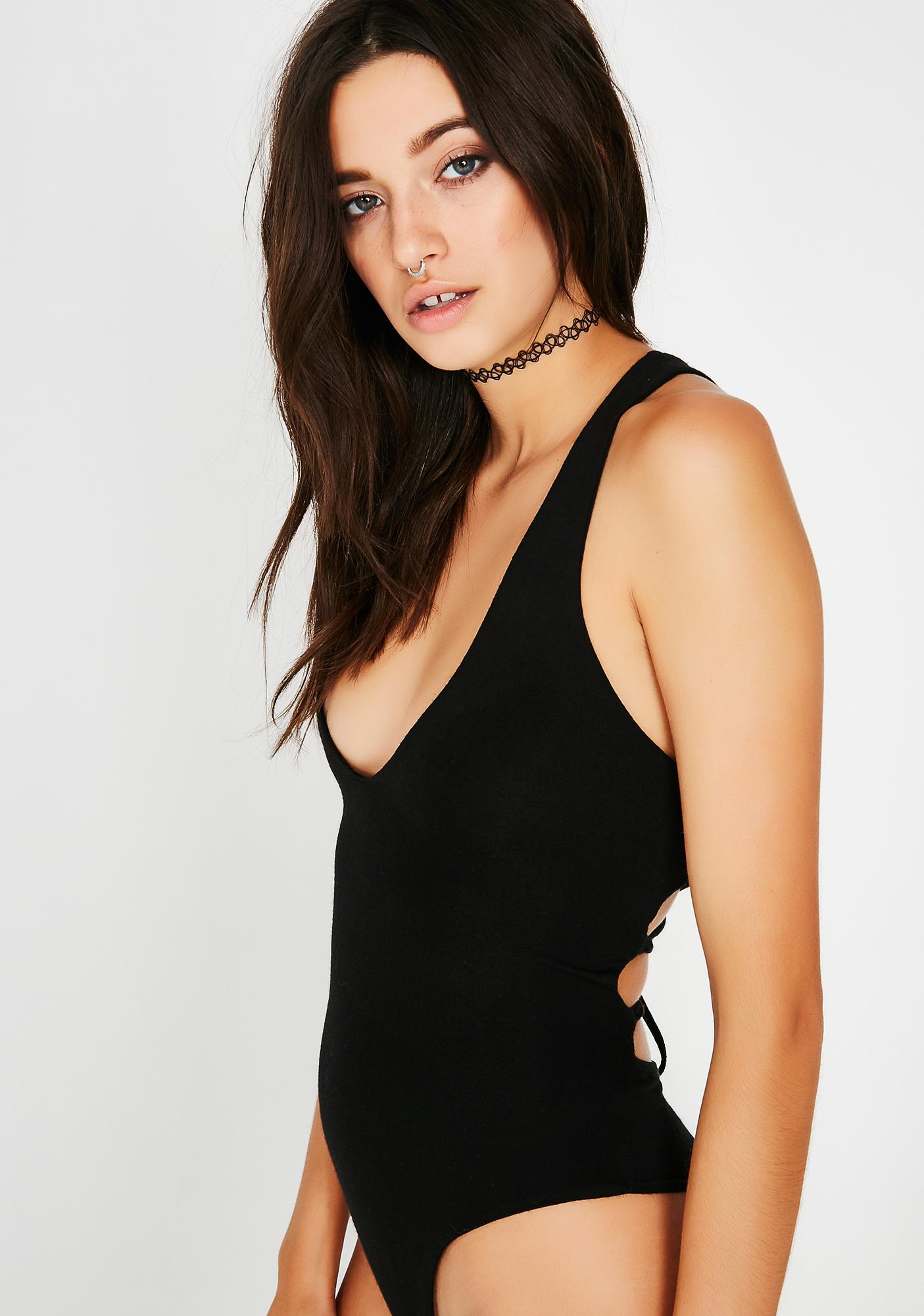 Night Party In The Back Bodysuit