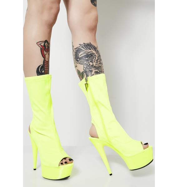 Electro Fantasy Platform Heels