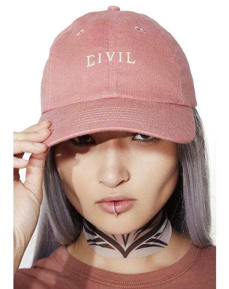 Civil Core Strapback Hat