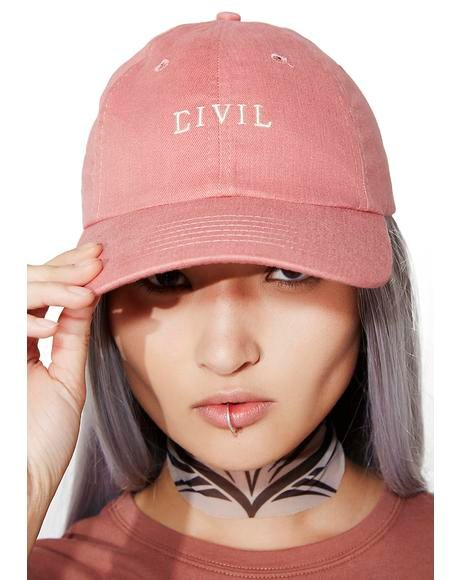 Civil Core Strapback Hat