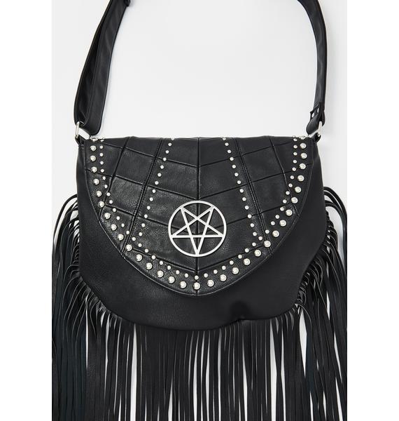 Killstar Metal Lyfe Fringe Bag