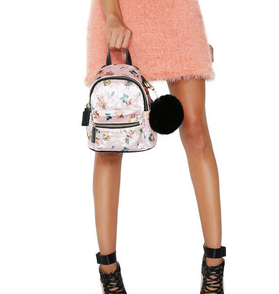 Dani Floral Mini Backpack