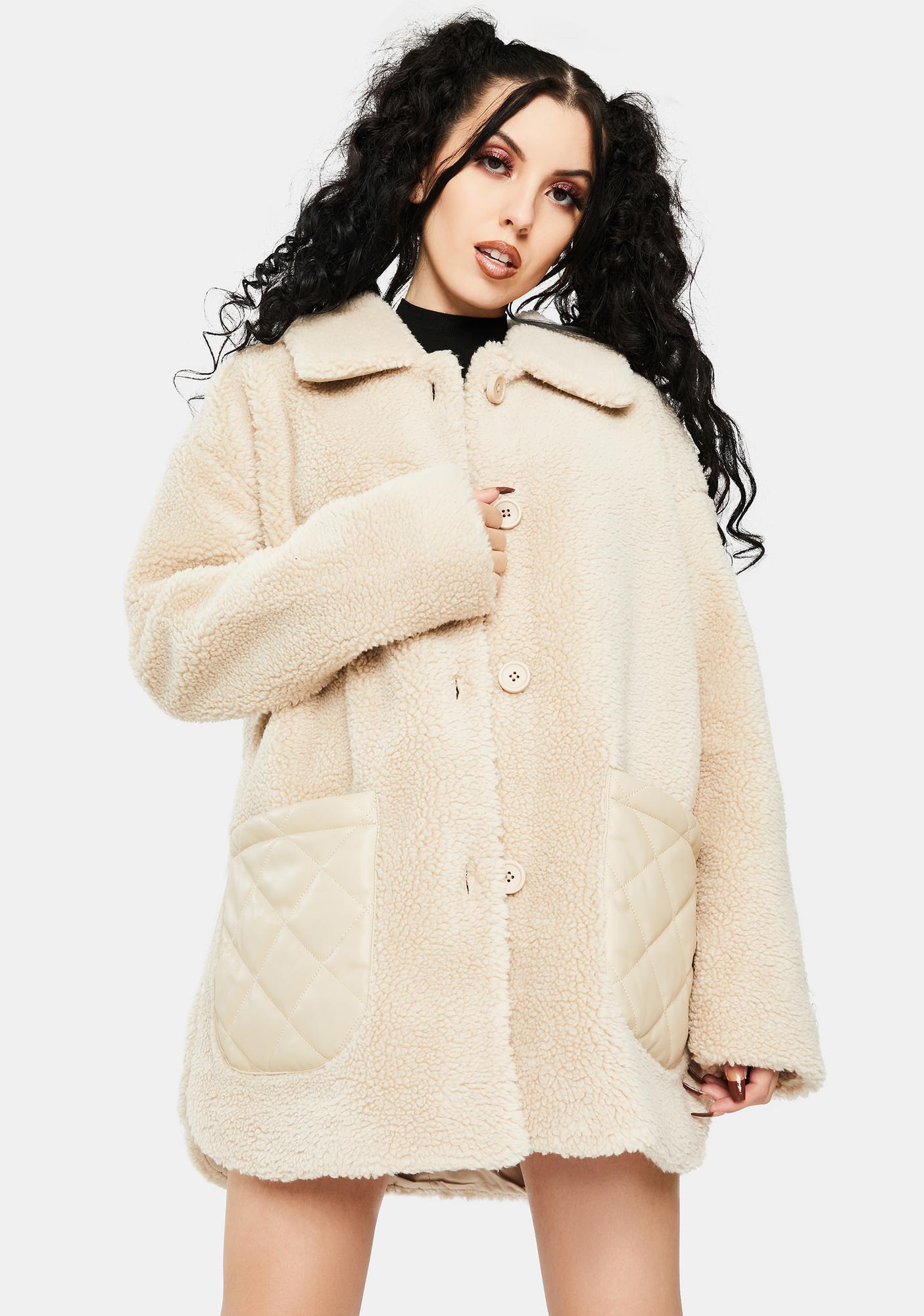 BB Dakota Yeti To Wear Faux Fur Jacket