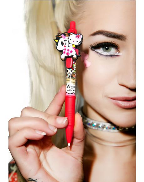 x Hello Kitty Unicorno Mechanical Pencil