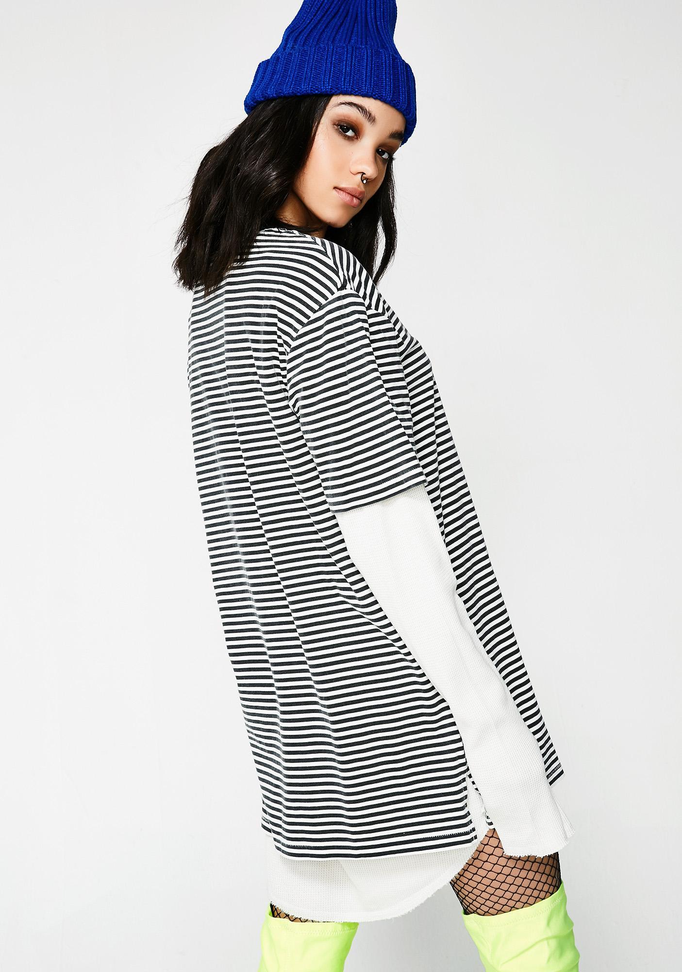 Insight Stripe Submerged Long Sleeve Tee