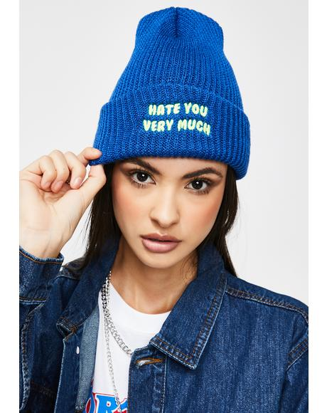 Hate You Watch Cap
