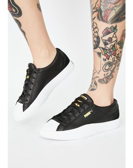Black Love Grand Slam Sneakers