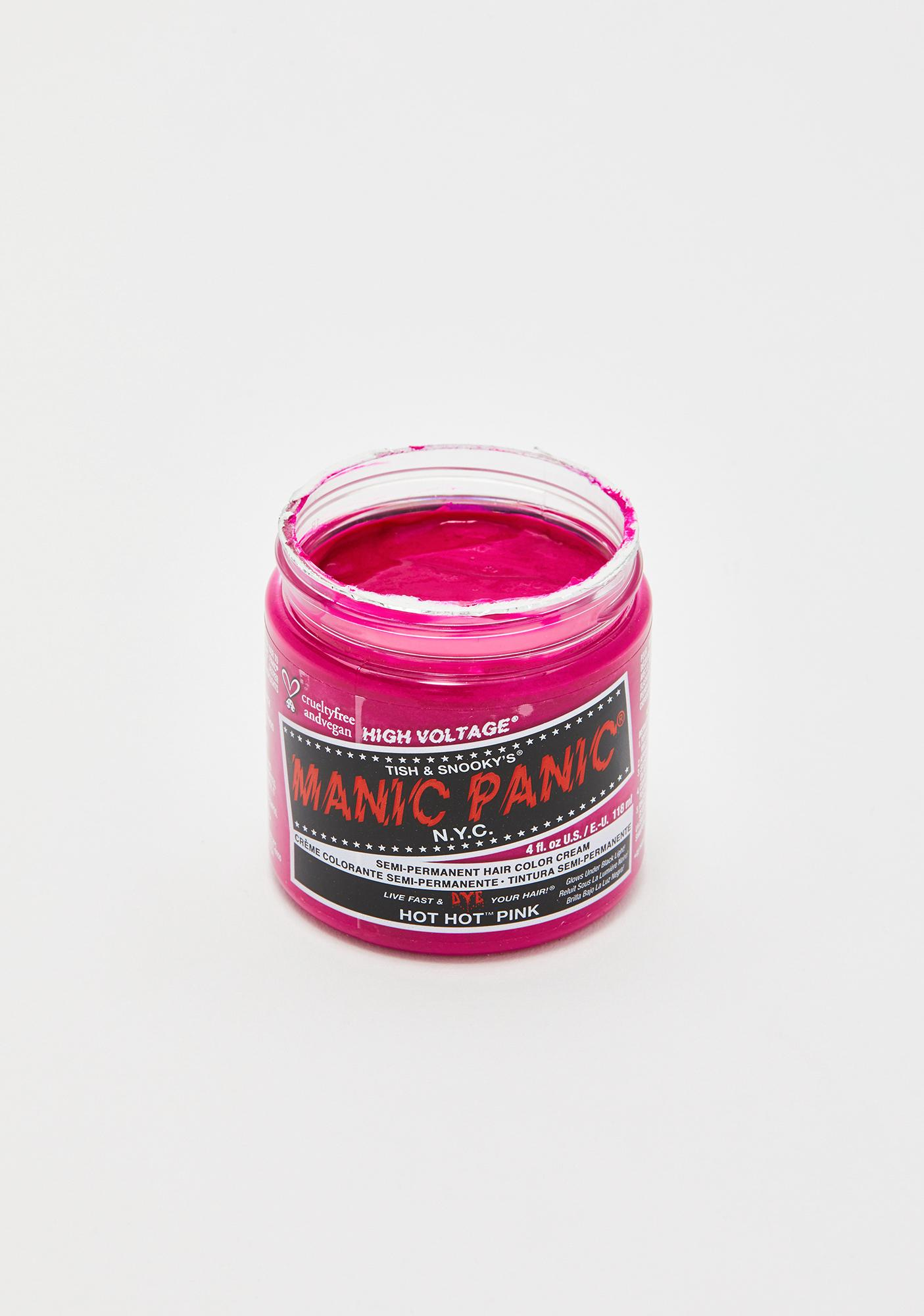 Manic Panic Hot Hot Pink Classic High Voltage UV Hair Dye