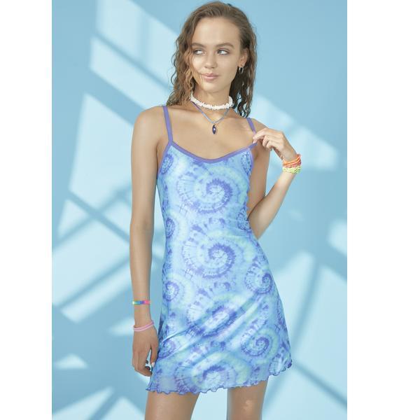 dELiA*s by Dolls Kill Chasin' Mavericks Mesh Dress