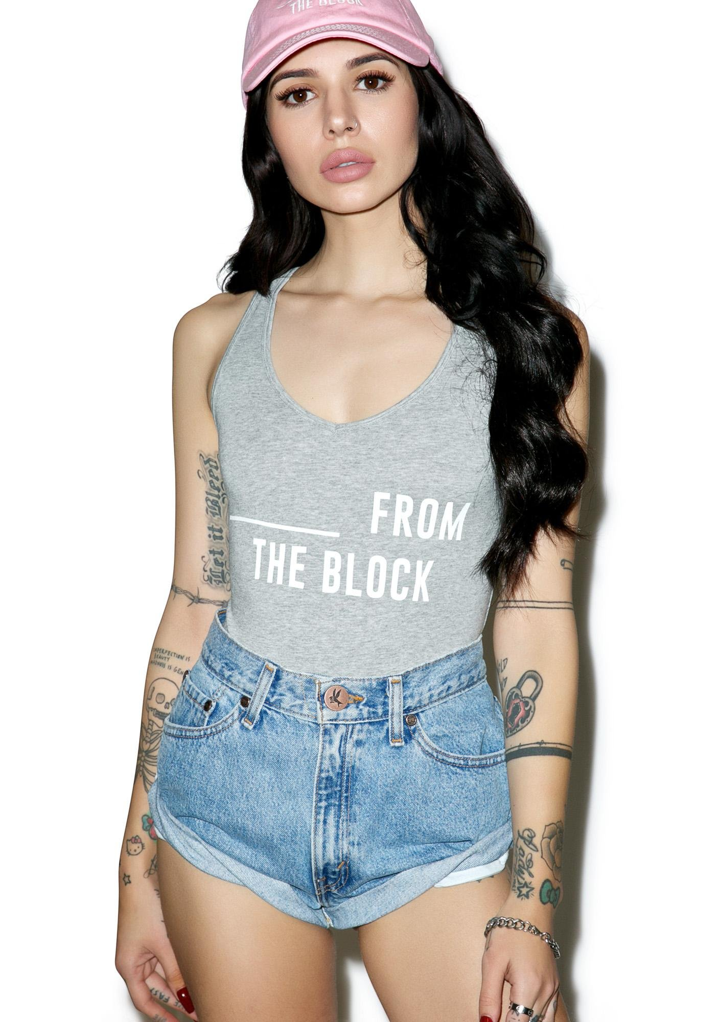 Dimepiece From The Block Bodysuit
